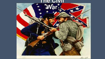 The Civil War. The First Shots Lincoln did not believe that the states had a right to leave the Union. He felt that it was his job to keep the country.