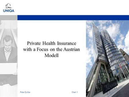 Peter EichlerChart 1 Private Health Insurance with a Focus on the Austrian Modell.