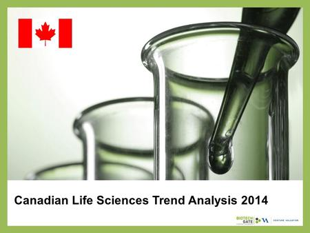 Canadian Life Sciences Trend Analysis 2014. About Us The following statistical information has been obtained from Biotechgate. Biotechgate is a global,