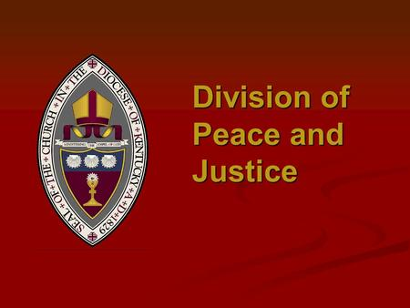 Division of Peace and Justice. Fair Trade But how? Supporting the MDGs.