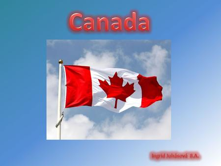 Canada is a country in North America consisting of ten provinces and three territories. Located in the northern part of the continent, it extends from.