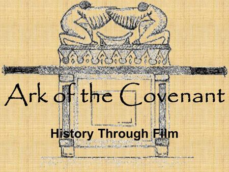 Ark of the Covenant History Through Film. Description Bible describes the Ark as made of acacia wood. God gave the instructions for making the Ark. A.
