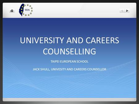 UNIVERSITY AND CAREERS COUNSELLING