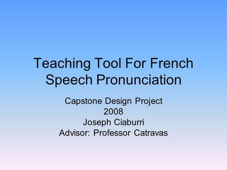 teaching pronunciation essay