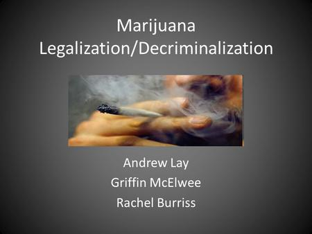 an analysis of the legalization and decriminalization of marijuana in the united states The legal history of cannabis in the united states pertains to the regulation of  cannabis for  also in 2000, hawaii became the first state to legalize medical  cannabis through an act of state legislature  to prosecute medical cannabis  providers based on a new interpretation of the amendment that was being  employed us.