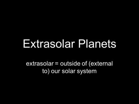 exo planets outside our solar system - photo #32
