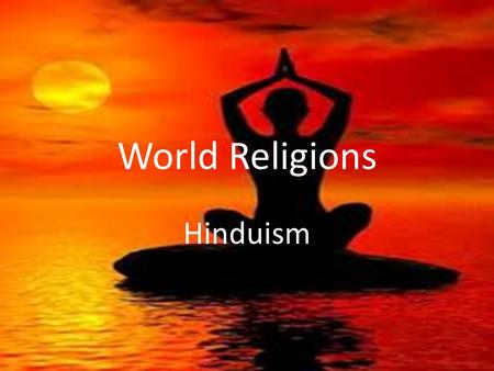 hinduism beliefs and practices pdf