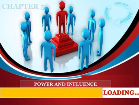 CHAPTER 5 POWER AND INFLUENCE LOADING….