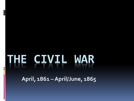 Long term causes of the civil war westward expansion