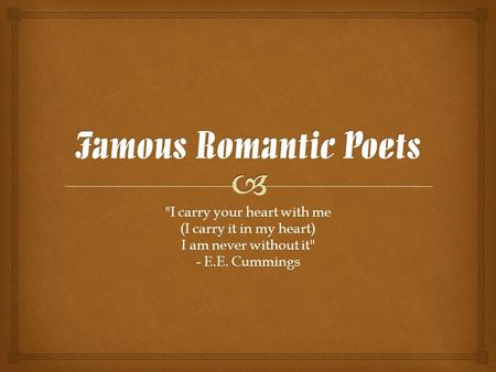 romanticism poetry william blake william wordsworth p cole