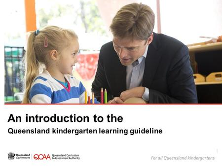 An introduction to the Queensland kindergarten learning guideline 14866.