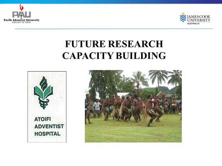 FUTURE RESEARCH CAPACITY BUILDING. 1.What is research 2.Research Proposal 3.Ethics approval process 4.Data collection 5.Data analysis 6.Report the findings.