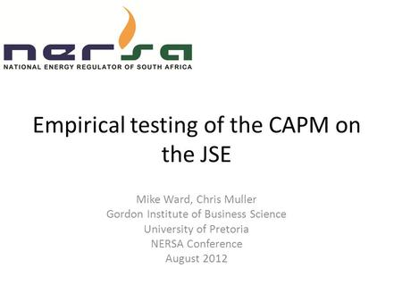 Empirical Tests of the Consumption-Oriented CAPM