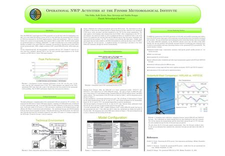 Peak Performance Technical Environment FMI NWP Activities.