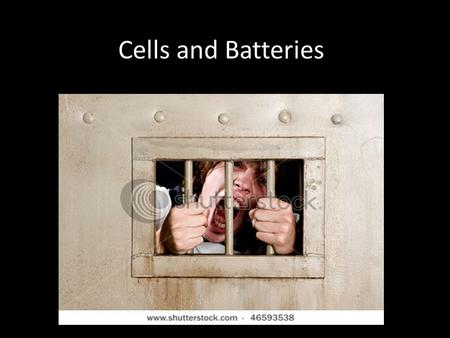 Cells and Batteries.