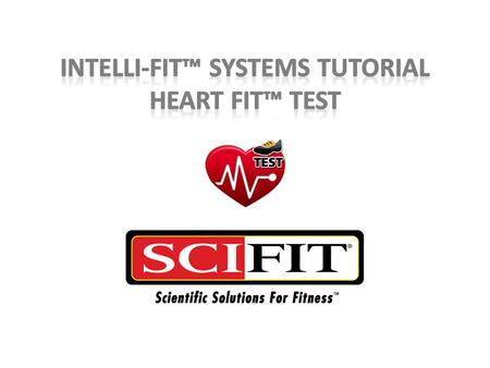 Heart Fit Test This Heart-Fit test is a 10 minute program designed to evaluate cardio fitness by measuring heart rate recovery. The user's average and.
