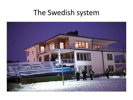 The Swedish system. Swedish passengers no longer trust the railway.