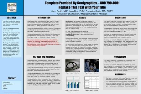 Microsoft powerpoint research poster template