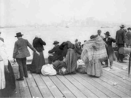 Through Ellis Island and Angel Island: The Immigrant Experience