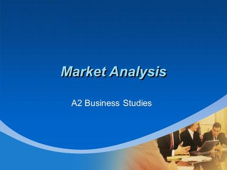 Company LOGO Market Analysis A2 Business Studies.