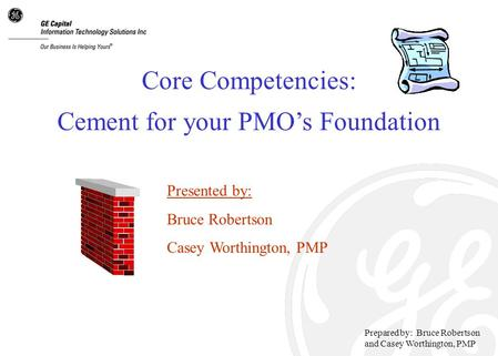 Cement for your PMO's Foundation