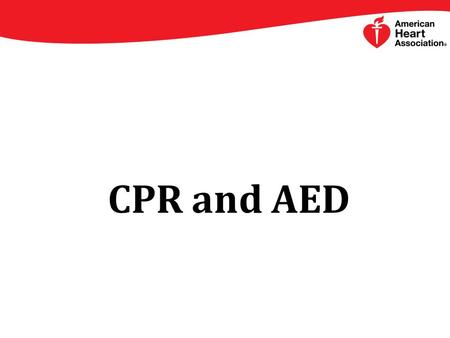 CPR and AED. New CPR Sequence Compressions A compression is the act of pushing on the chest People often don't push hard enough because they're afraid.
