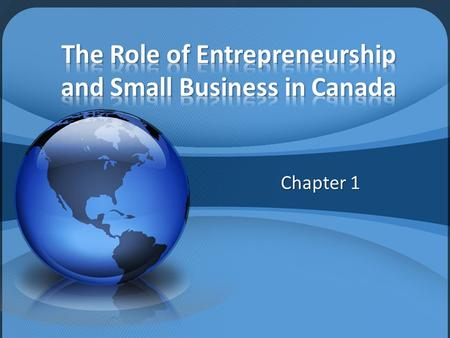 Small Business Management Chapter 1