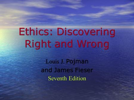 right and wrong ethics philosophy Most people already have general ideas - or what philosophers call 'intuitions' or ' presumptions' - about what they think is 'right' or 'wrong' but a philosophical.