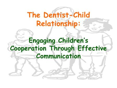 Article in the Journal Pediatric Dentistry