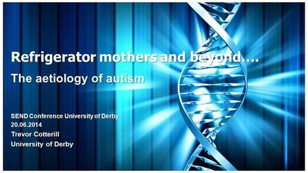 the aetiology of autism essay A large collection of scientific papers relating to vaccine dangers and injuries full text pdfs, not just abstracts  on the aetiology of autism  papers from .