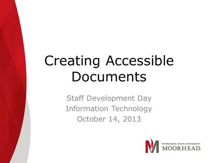 creating accessible pdfs professional development day fall