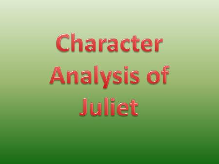 a comparison of the female characters in the play romeo and juliet Compare/ contrast romeo and juliet characters with the taming of the shrew characters compare and contrast characters from romeo and juliet and of mice and men what would be a good title for a romeo and juliet compare and contrast essay.
