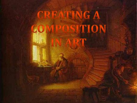 Creating a Composition in Art.