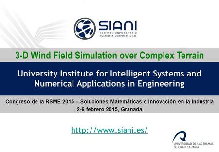 3-D Wind Field Simulation over Complex Terrain