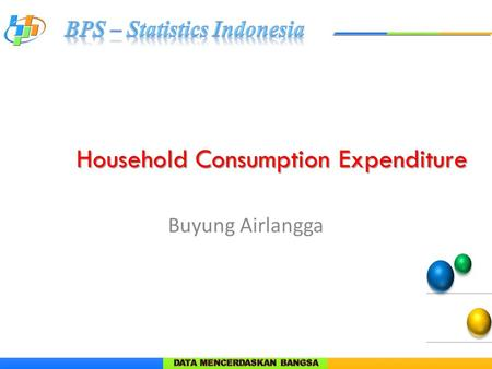 Household Consumption Expenditure Buyung Airlangga.