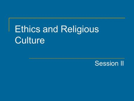 Ethics and Religious Culture Session II. Agenda ERC - Review  Competencies  Themes by cycle Outcomes – What does the learning look like? Specific Resources.