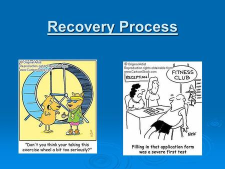 Recovery Process. Excess post exercise oxygen consumption (EPOC) The total volume of oxygen that is consumed during recovery above that which would have.