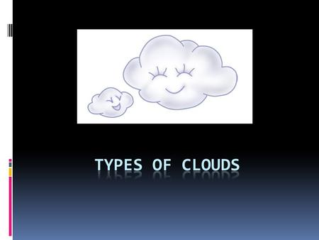 Types of Clouds.