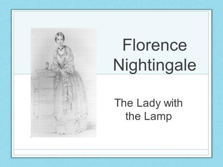 florence nightingale leadership style From the time of florence nightingale when nursing introduced public this is an advanced leadership program for the future of nursing: leading change.