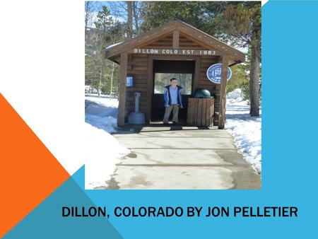 DILLON, COLORADO BY JON PELLETIER. County: Summit County.