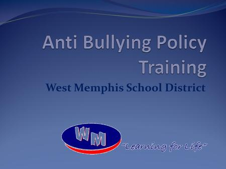 Anti Bullying Policy Training