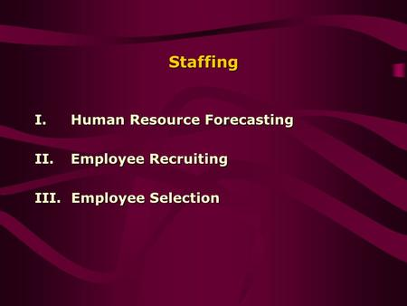 forecasting supply of human resource in Assessing current hr demand and supply forecasting (discussion note) bkb/nasc bkb/professional hrm/2015 human resource planning  important to tap the human .