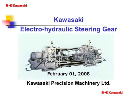 Kawasaki Precision Machinery Ltd.