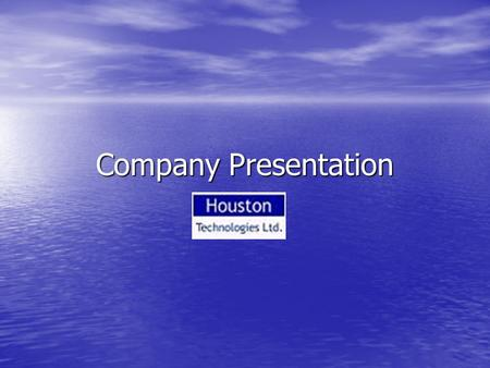 Company Presentation.  Incorporated in the year 2000  Primary focus on Telecom and IT Solutions & Services  Active Player in India & South East Asia.