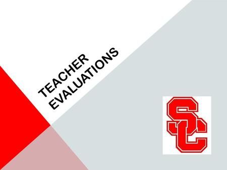 TEACHER EVALUATIONS. REVIEW OF POLICY Classroom teaching must be observed using one of the four piloted observation tools: Charlotte Danielson's.
