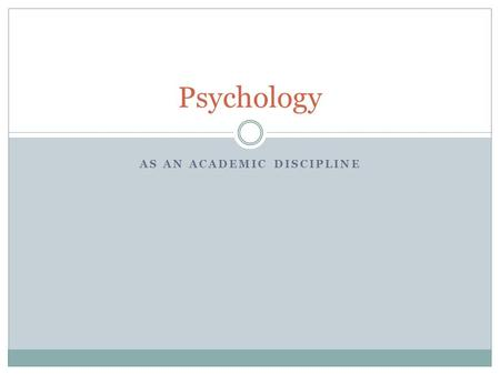 a study on child discipline of psychology