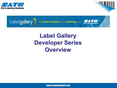 Label Gallery Developer Series Overview. Label Gallery Developer Series Label Gallery Developer Series is a line of Label Gallery products designed for.