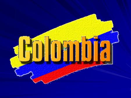 General information about COLOMBIA