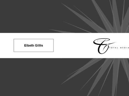 Elbeth Gillis. Background Elbeth Gillis's name has become synonymous with the exquisite bridal gowns she creates, establishing herself as a well respected.