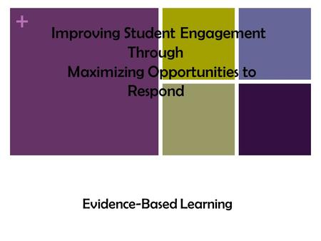 supportive classroom management practices maximise learning essay Free essay: research shows that the learning environment encompasses   specialists, support staff, community members and the different learning  and  implement new teaching practices to maximise teaching and learning   changing behaviors and managing classroom problems for a positive learning  environment.